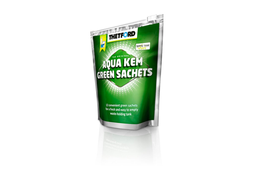 thetford aqua kem green sachets i love camping i love. Black Bedroom Furniture Sets. Home Design Ideas
