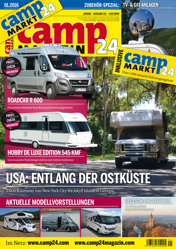 welche camping zeitschriften gibt es i love camping. Black Bedroom Furniture Sets. Home Design Ideas