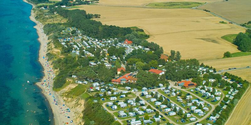 Ostseecamp Seeblick Luftaufnahme