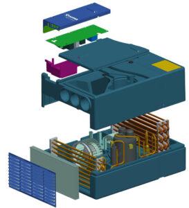 Klimaanlage Funktionsaufbau Bild: Truma Gerätetechnik GmbH & Co. KG