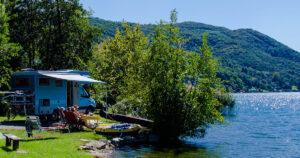 Reisemobilstellplatz Lugano TCS - I Love Camping