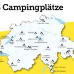 Reisemobilstellplatz Schweiz auf TCS-Camping