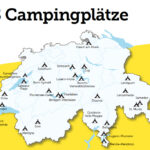 Reisemobilstellplatz Schweiz TCS - I Love Camping