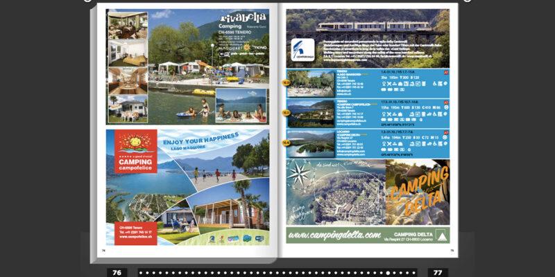 swisscamps.ch Broschüre 2016