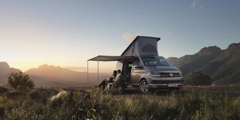 VW T6 California Camping