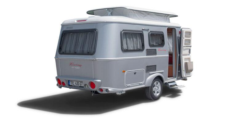 Eriba Touring Triton 430 Reisewohnwagen Camping Schweiz