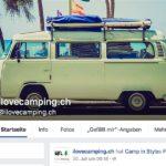Facebookseiten für Camper