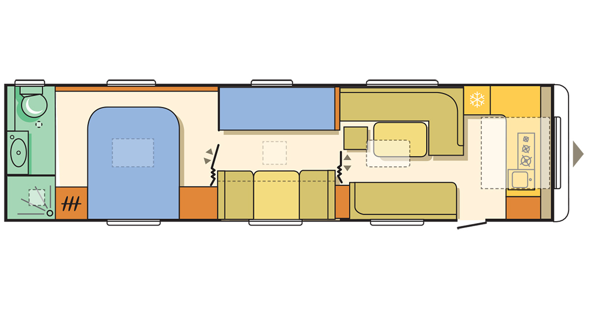 die gr ssten wohnwagen europas i love camping. Black Bedroom Furniture Sets. Home Design Ideas