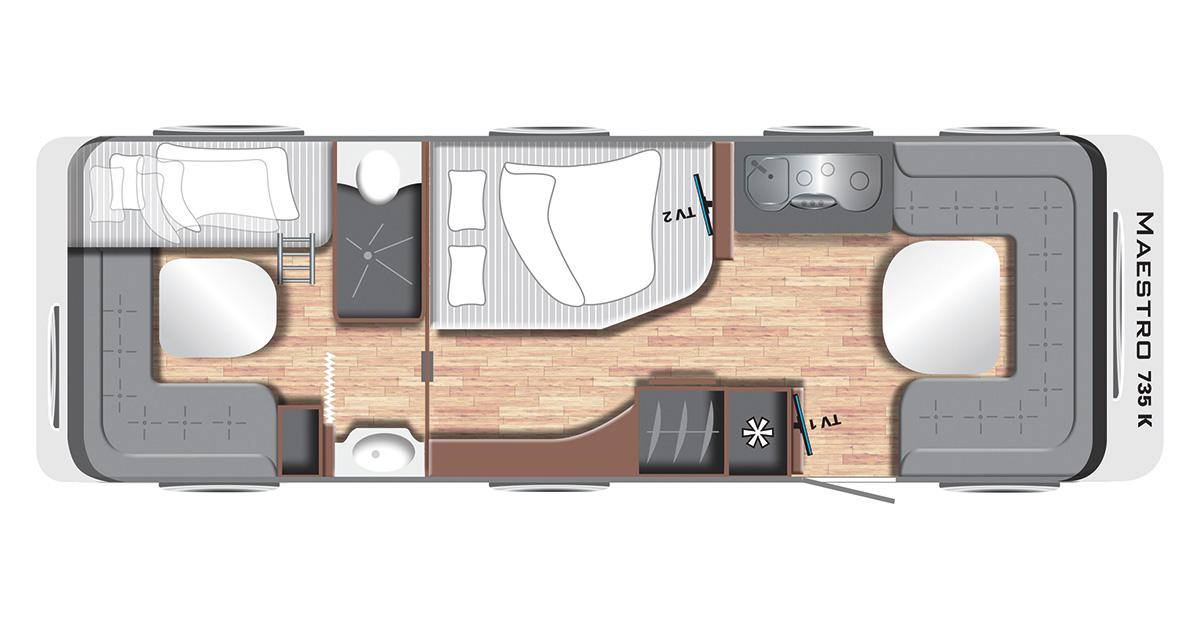 Wohnwagen Etagenbett Grundriss : Wohnwagen etagenbett grundriss leichte unter kg
