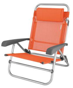 Campingstuhl Strandstuhl Eurotrail Mallorca orange