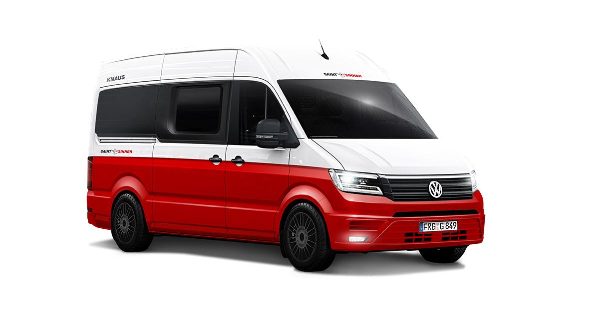 VW Crafter - Knaus Saint and Sinner