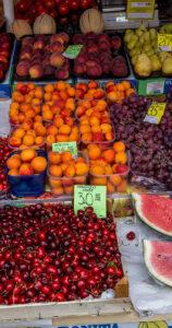 Roadtrip nach Kroatien Markt in Pula