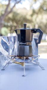 Kaffee beim Campen - Moka Express