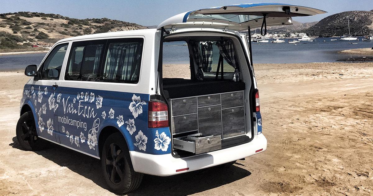 Wie aus einem einfachen Van ein Camper wird - mit VanEssa ...
