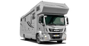 Luxusreisemobil Phoenix TopX MAN TGM Alkoven