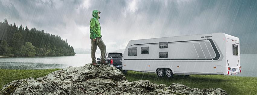 Wohnwagen für Familien Weinsberg CaraOne Ice
