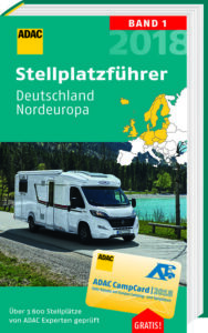 ADAC Stellplatzfuehrer Nordeuropa Campingfuehrer