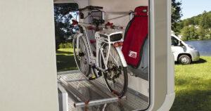 Fahrrad im Wohnmobil Fiamma Garage Standard