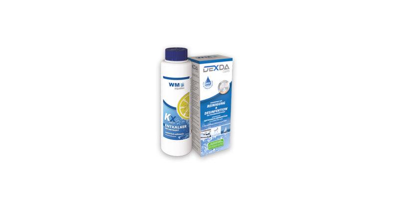 Campingprodukte für im Winter WM aquatec Desinfektion und Entkalkung