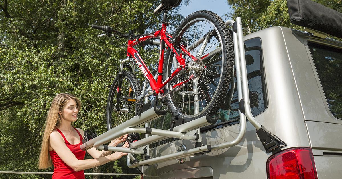 Fahrradtransport mit dem Campingbus Fiamma Carry Bike VW T5