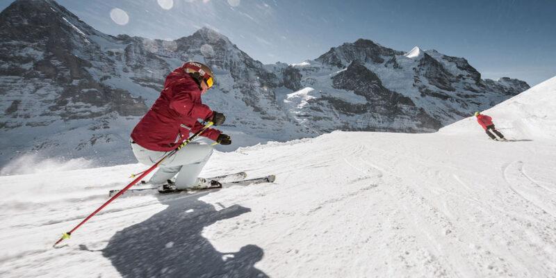 Campingregion Interlaken - Skifahren kleine Scheidegg