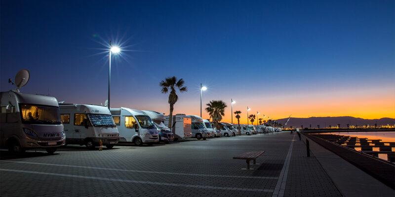 Stellplatz La Linea Spanien Gibraltar