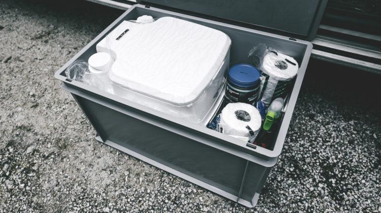 Toilette im VW Bus – so funktionierts