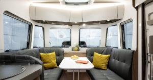 Eriba Touring 820 Sitzgruppe
