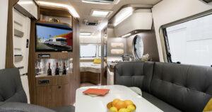 Eriba Touring 820 Innenansicht