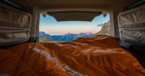 Kein Campingplatz - wildcamping in Slowenien