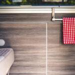VW California einrichten Handtuchhalter - I Love Camping