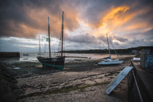 Cancale Hafen - I Love Camping