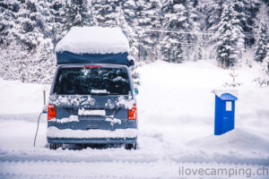 Calicap - Wintercamping mit dem VW California