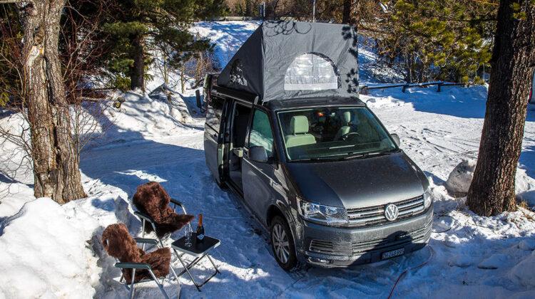 Platz an der Sonne - Wintercamping mit VW California