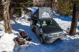 Platz an der Sonne - Wintercamping mit dem VW California