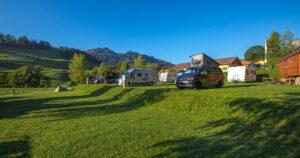 Tour durchs Berner Oberland Camping Arnist