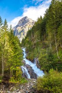 Tour durchs Berner Oberland Simmenfälle