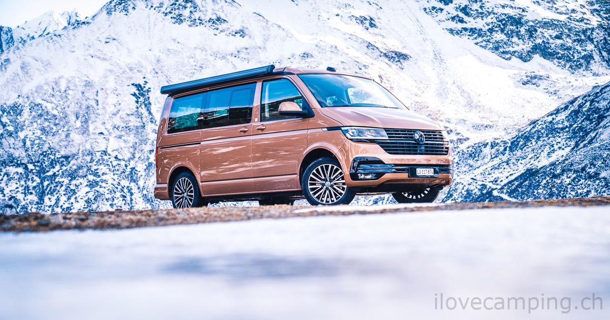 Welche Farbe passt zum VW California - T6.1 California Copper Bronze - I Love Camping