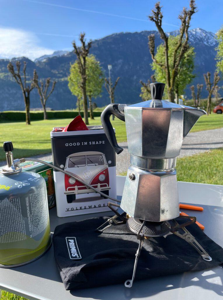 Mietcamper Bialetti - I Love Camping