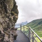 Grindelwald First Cliff Walk Aussicht