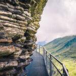 Grindelwald First Cliff Walk Felsen