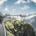 Grindelwald First Cliff Walk Steg