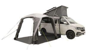 Vorzelt für den Campingbus - Outwell Seitenwände offen - I Love Camping